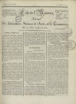 Echo de l'univers : journal de littérature, sciences et arts, et de commerce, N°14