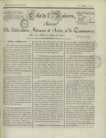 Echo de l'univers : journal de littérature, sciences et arts, et de commerce, N°13