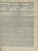 Echo de l'univers : journal de littérature, sciences et arts, et de commerce, N°122