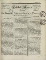 Echo de l'univers : journal de littérature, sciences et arts, et de commerce, N°16