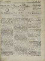 Echo de l'univers : journal de littérature, sciences et arts, et de commerce, N°123