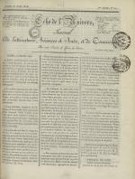 Echo de l'univers : journal de littérature, sciences et arts, et de commerce, N°20