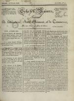 Echo de l'univers : journal de littérature, sciences et arts, et de commerce, N°72