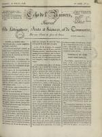 Echo de l'univers : journal de littérature, sciences et arts, et de commerce, N°71