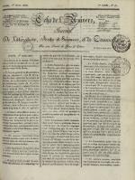 Echo de l'univers : journal de littérature, sciences et arts, et de commerce, N°76