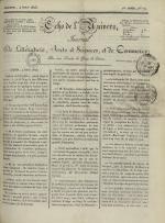 Echo de l'univers : journal de littérature, sciences et arts, et de commerce, N°77