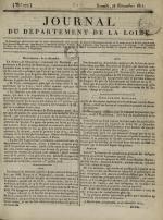 Journal du département de la Loire, N°277, pp. 1