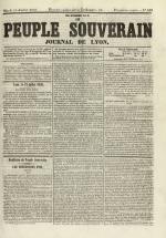 Le Peuple souverain : journal des intérêts démocratiques et du progrès social, N°102