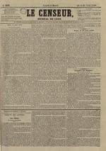 Le Censeur : journal de Lyon, politique, industriel et littéraire, N°3638