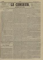 Le Censeur : journal de Lyon, politique, industriel et littéraire, N°3640