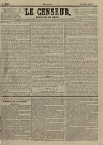 Le Censeur : journal de Lyon, politique, industriel et littéraire, N°3639