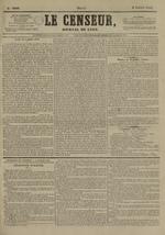 Le Censeur : journal de Lyon, politique, industriel et littéraire, N°3906