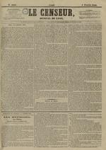 Le Censeur : journal de Lyon, politique, industriel et littéraire, N°4090