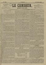 Le Censeur : journal de Lyon, politique, industriel et littéraire, N°4093