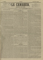 Le Censeur : journal de Lyon, politique, industriel et littéraire, N°4094