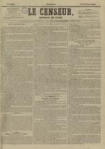 Le Censeur : journal de Lyon, politique, industriel et littéraire, N°4095