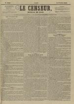 Le Censeur : journal de Lyon, politique, industriel et littéraire, N°4096