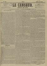 Le Censeur : journal de Lyon, politique, industriel et littéraire, N°4097