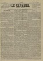 Le Censeur : journal de Lyon, politique, industriel et littéraire, N°4141