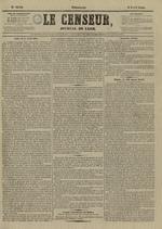 Le Censeur : journal de Lyon, politique, industriel et littéraire, N°4142