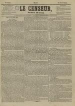 Le Censeur : journal de Lyon, politique, industriel et littéraire, N°4151