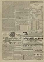 Le Censeur : journal de Lyon, politique, industriel et littéraire, N°4151, pp. 4