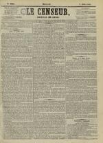 Le Censeur : journal de Lyon, politique, industriel et littéraire, N°4205