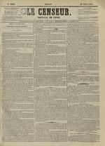 Le Censeur : journal de Lyon, politique, industriel et littéraire, N°4208