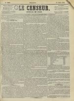 Le Censeur : journal de Lyon, politique, industriel et littéraire, N°4209