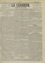 Le Censeur : journal de Lyon, politique, industriel et littéraire, N°4211