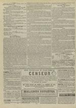 Le Censeur : journal de Lyon, politique, industriel et littéraire, N°4359, pp. 4