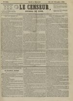Le Censeur : journal de Lyon, politique, industriel et littéraire, N°4404