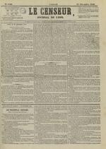Le Censeur : journal de Lyon, politique, industriel et littéraire, N°4406