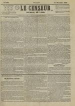 Le Censeur : journal de Lyon, politique, industriel et littéraire, N°4408