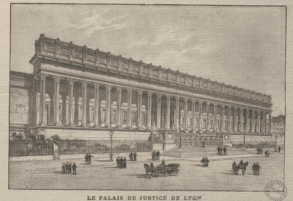 Le Palais de Justice de Lyon