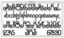 Alessandrini, Exemple, Alessandrini, n° 1