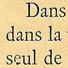 Caractères anciens, Exemple, Caractères anciens, n° 1