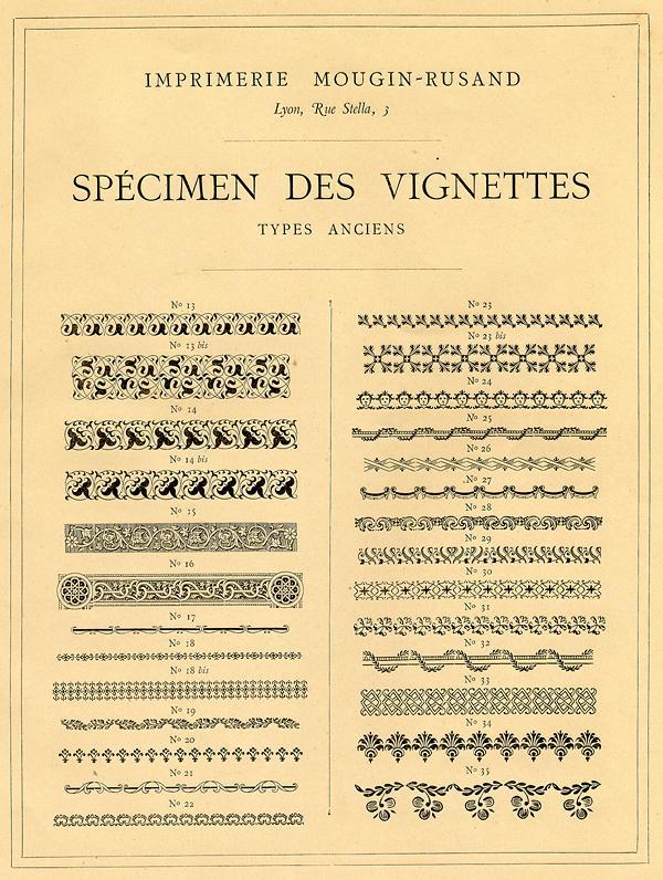 Vignettes Mougin-Rusand
