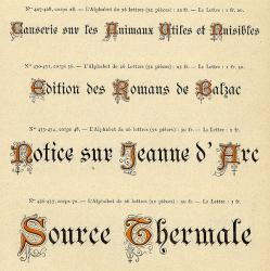 Initiales Moyen-Âge, Exemple, Initiales Moyen-Âge, n° 1