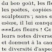 Romanes, Exemple, Romanes, n° 1