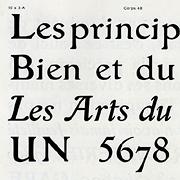 Grasset, Exemple, Grasset, n° 3