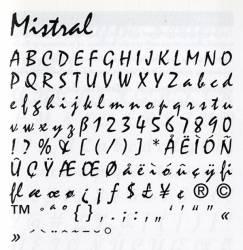 Mistral, Exemple, Mistral, n° 8