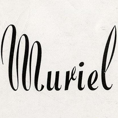 Muriel, Exemple, Muriel, n° 6