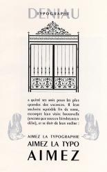 Peignot, Exemple, Peignot, n° 2