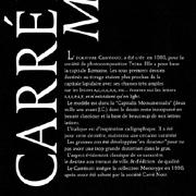 Carré Noir, Exemple, Carré noir, n° 1