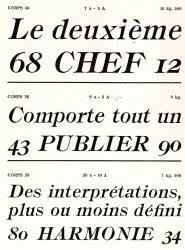 Récamier, Exemple, Récamier, n° 4