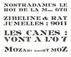 Mozart, Exemple, Mozart, n° 1