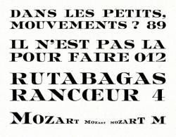 Mozart, Exemple, Mozart, n° 7