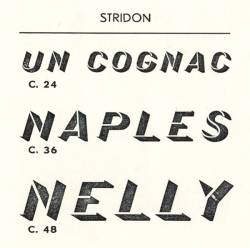 Stridon, Exemple, Stridon, n° 7
