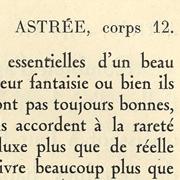 Astrée, Exemple, Astrée, n° 4
